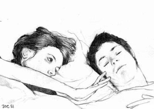 Когда ты спишь...