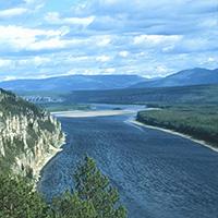 Стихи о реке Алдан