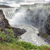 Стихи о водопаде Деттифосс