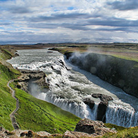 Стихи о водопаде Гуллфосс