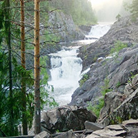 Стихи о водопаде Кивач