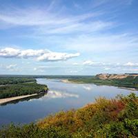 Стихи о реке Обь