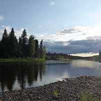 Стихи о реке Печора