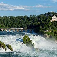 Стихи про Рейнский водопад