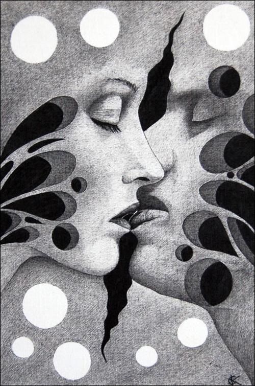 Абстрактное чувство любви...