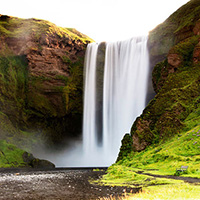 Стихи о водопаде Скоугафосс