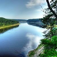 Стихи о реке Сухона