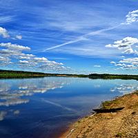 Стихи о реке Вычегда