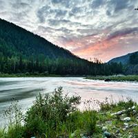 Стихи о реке Енисей