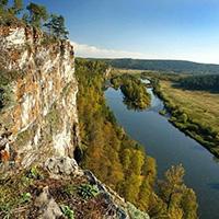 Стихи о речке Юрюзань