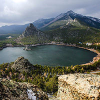 Стихи об озере Боровое