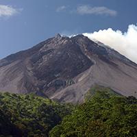 Стихи о вулкане Мерапи
