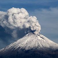 Стихи о вулкане Попокатепетль
