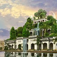 Стихи о Висячих садах Семирамиды