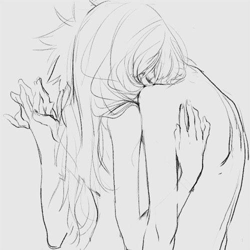 Зарыться в плечи, вплетаться в руки...