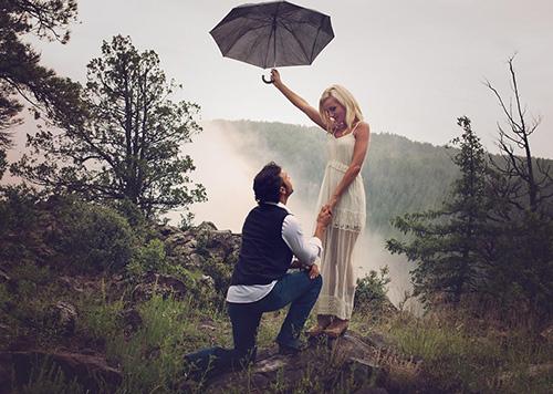 Чтобы любовь не промокла