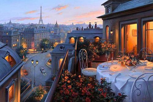 Перед свиданием в Париже