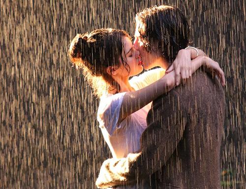 Теплый дождь любви