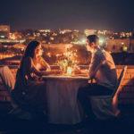 Романтика ночных свиданий на крыше