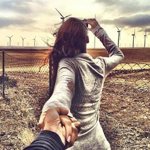 Надышаться ветром любви