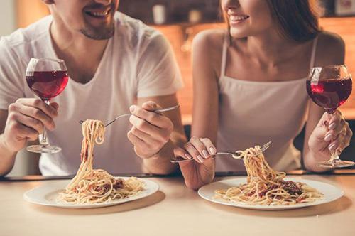 Спагетти вдвоем
