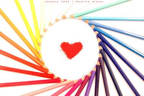 Разноцветная любовь
