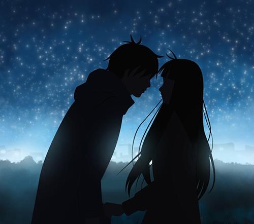 В ожидании первого поцелуя под звездным небом