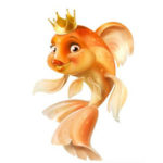 Сказки о Золотой Рыбке в стихах