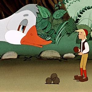 Чудесное путешествие Нильса с дикими гусями в стихах