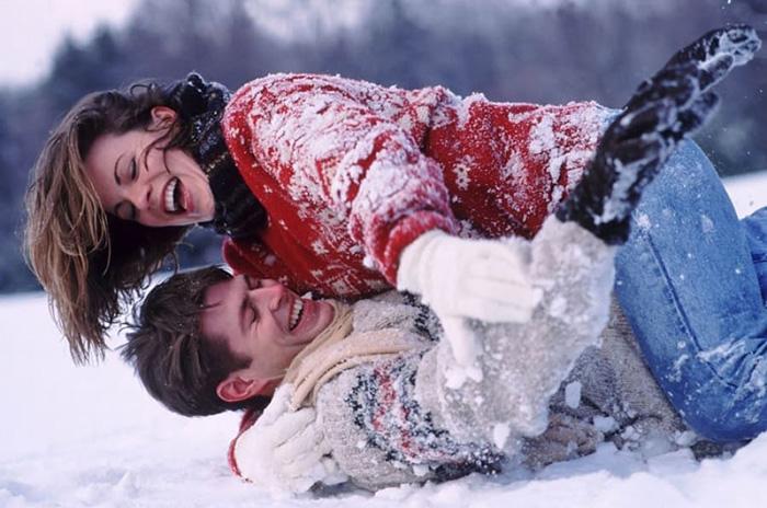 Любовь в снегу