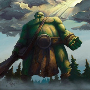 Стихи о великане, гиганте