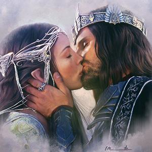 Стихи о Арагорне и Арвен