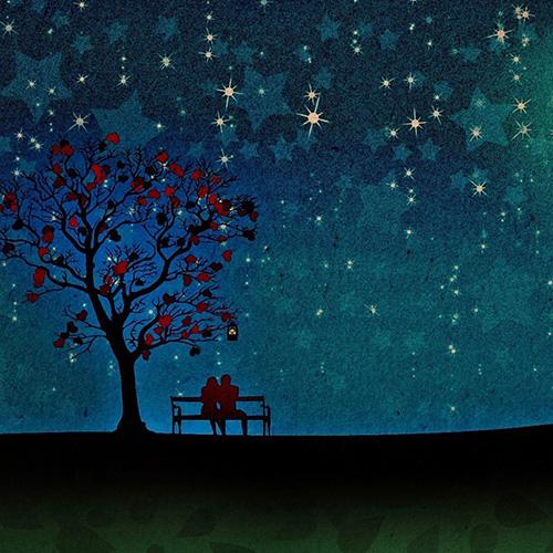 Свидание под деревом любви