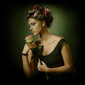 Женщина с запахом роз