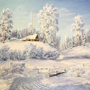 Стихи Есенина о зиме