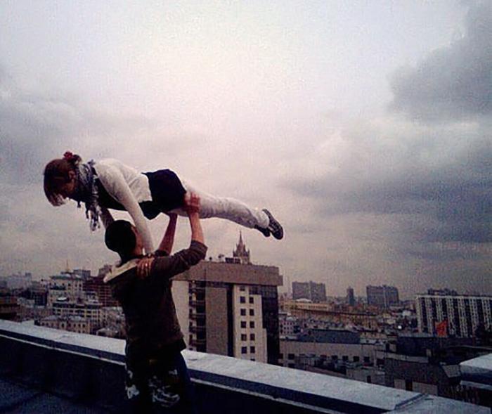 Когда ты выше неба