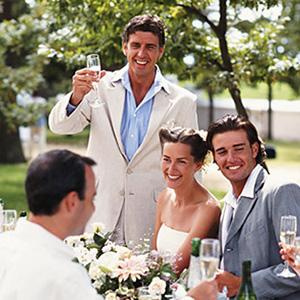 Поздравления на свадьбу от коллег жениха