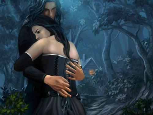 Свидание в темном лесу