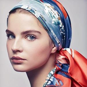 Загадки про платок, платочек, косынку, шаль