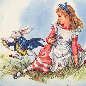 Загадки об Алисе в Зазеркалье