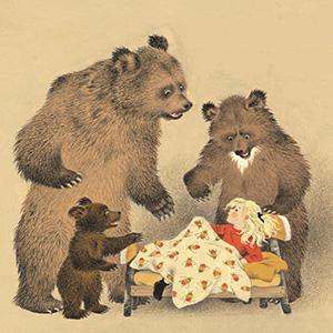 "Загадки о сказке ""Три медведя"""