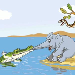 """Загадки о сказке """"Слоненок"""""""