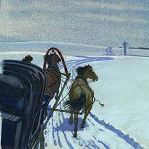 Зимняя дорога - Александр Пушкин