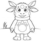 Рисунки для срисовки карандашом Лунтик