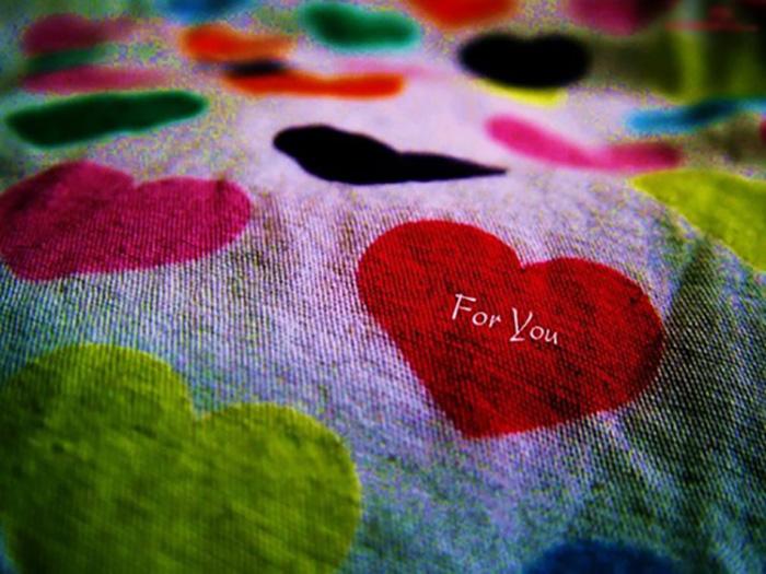 Теплое сердечное одеяло