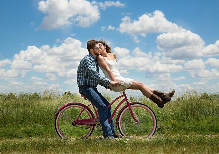 Правильная велопрогулка для влюбленных