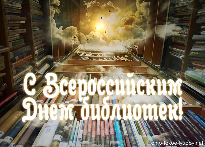 С Всероссийским днем библиотек