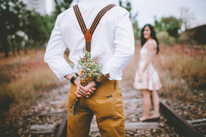 Букет полевых цветов для любимой