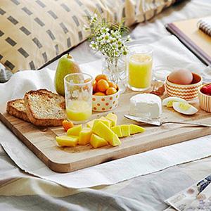 Завтрак в постель - стихи