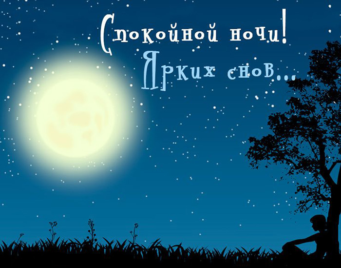 Спокойной ночи. Ярких снов
